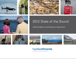 2012 State of the Sound report cover