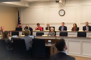 Tessa Francis testifies before the state legislature on the importance of Puget Sound forage fish.
