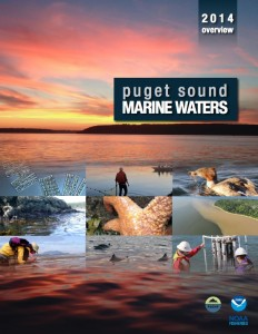 Puget Sound marine waters 2014 overview report cover