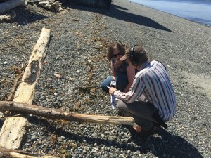 KUOW's John Ryan interviews Aimee Kinney about the ecological impacts of shoreline armoring.