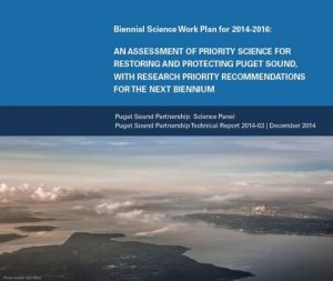 2014-2016 Biennial Science Work Plan