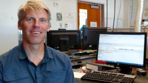 PSI research scientist Andy James