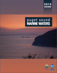 Marine Waters 2015 report cover