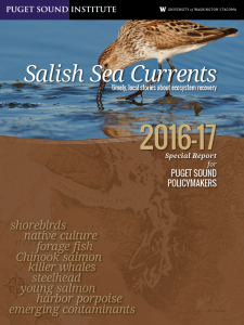 2016-17 Special Report for Puget Sound Policymakers