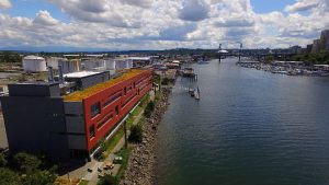 The Puget Sound Institute and Puget Sound Partnership are located at the Center for Urban Waters on the eastern shore of Tacoma's Thea Foss Waterway.